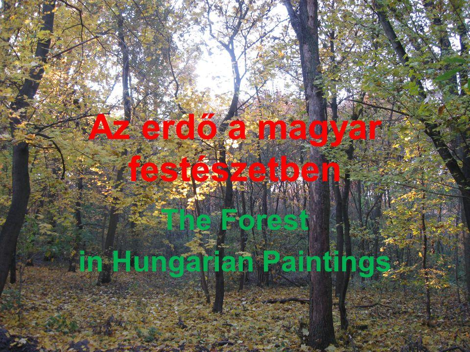 Az erdő a magyar festészetben
