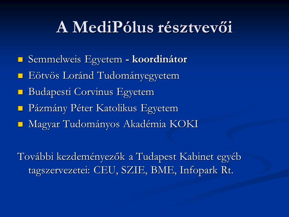 A MediPólus résztvevői