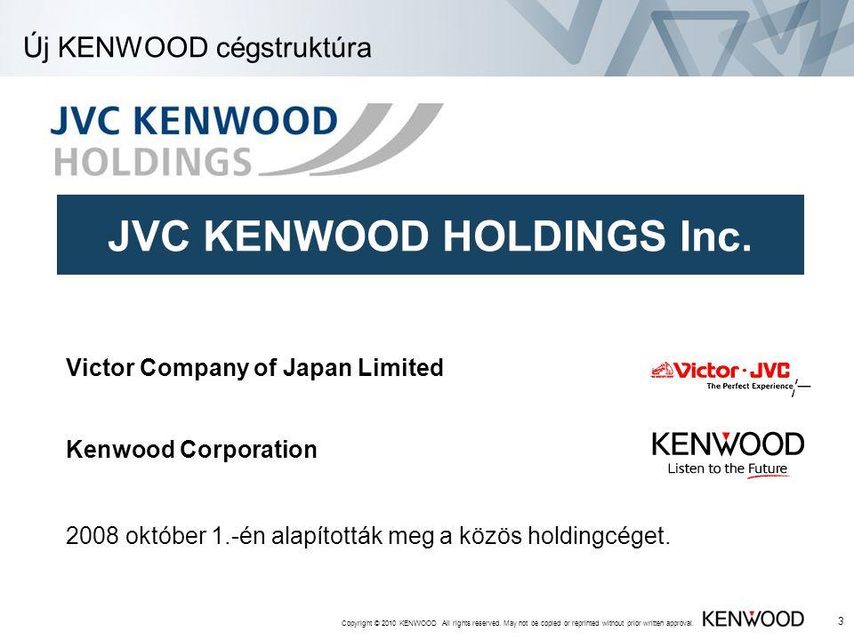Új KENWOOD cégstruktúra
