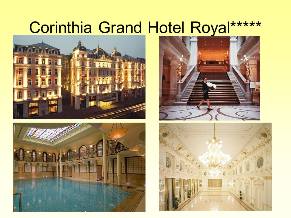 Corinthia Grand Hotel Royal*****