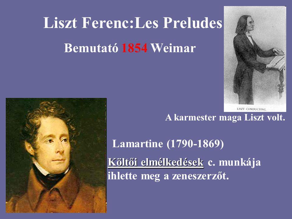 Liszt Ferenc:Les Preludes