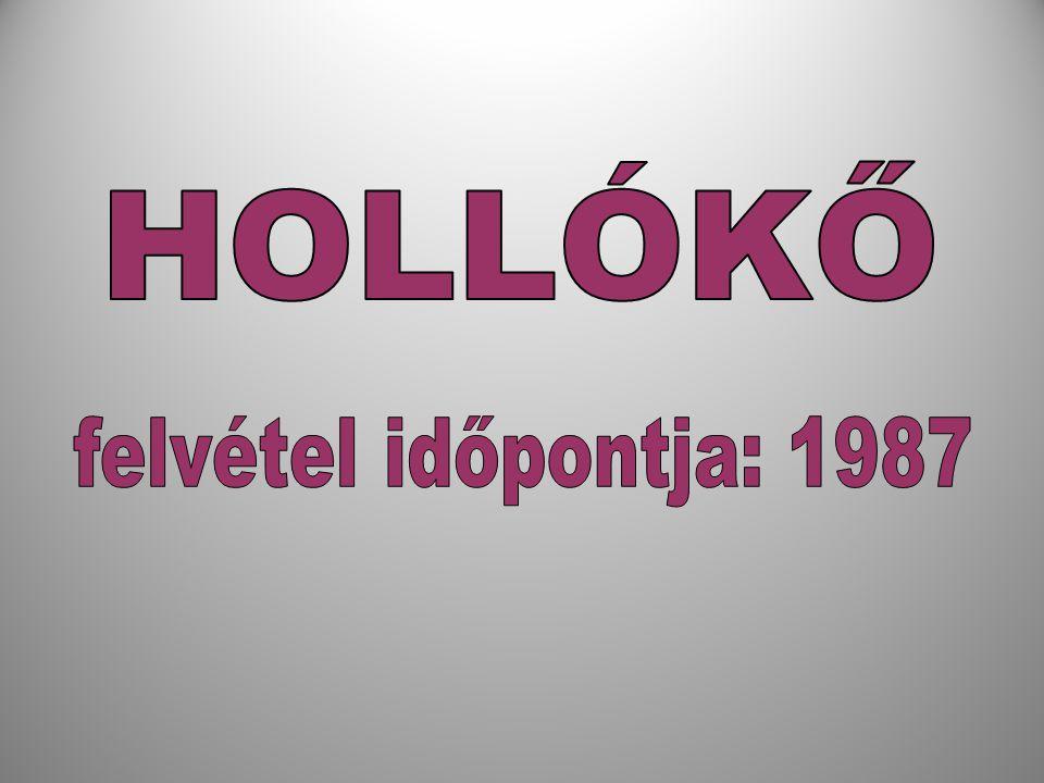 HOLLÓKŐ felvétel időpontja: 1987