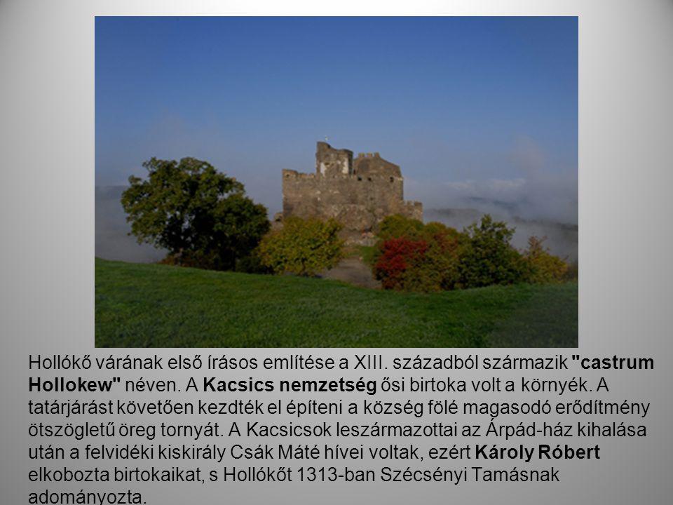 Hollókő várának első írásos említése a XIII