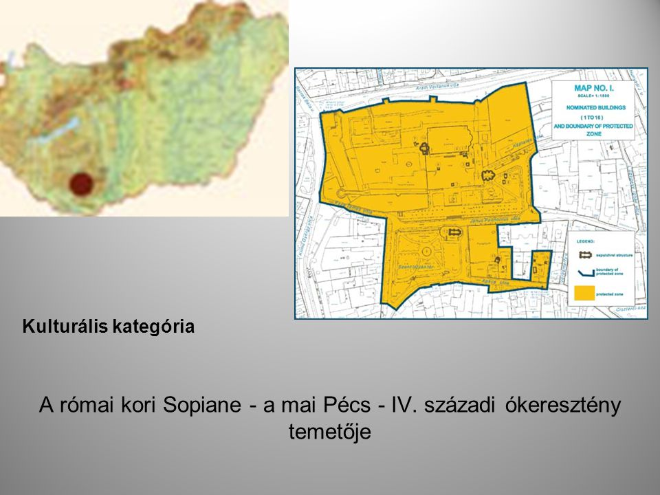 A római kori Sopiane - a mai Pécs - IV. századi ókeresztény temetője