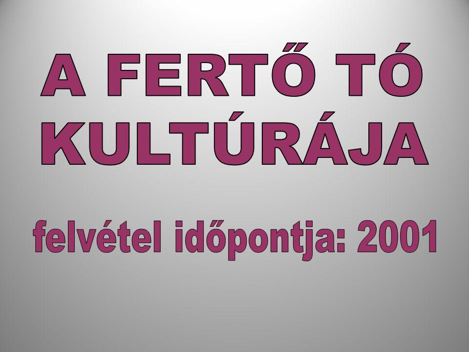 A FERTŐ TÓ KULTÚRÁJA felvétel időpontja: 2001