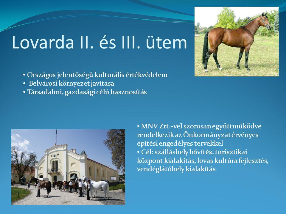 Lovarda II. és III. ütem Országos jelentőségű kulturális értékvédelem