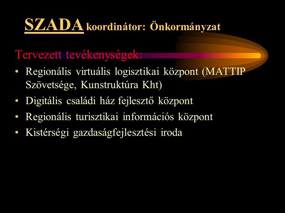 SZADA koordinátor: Önkormányzat