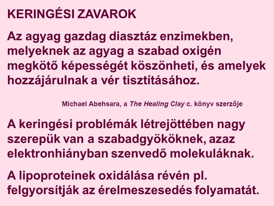 KERINGÉSI ZAVAROK