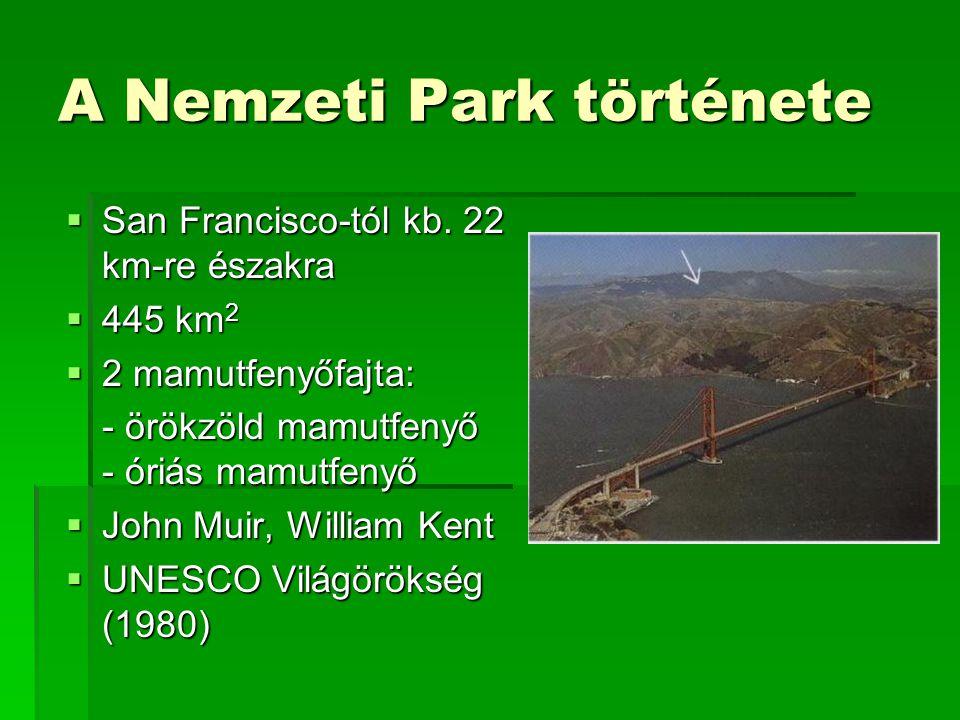 A Nemzeti Park története