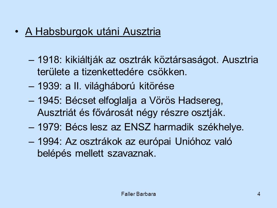 A Habsburgok utáni Ausztria