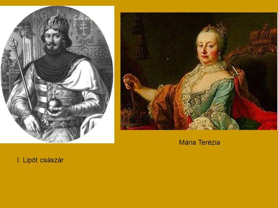 Mária Terézia I. Lipót császár