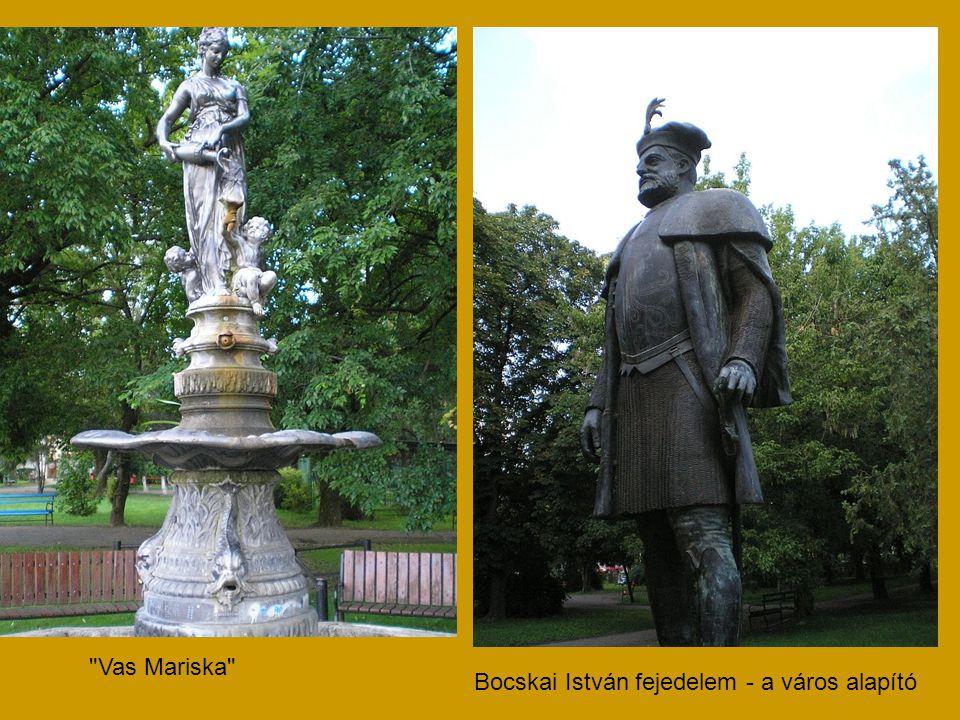 Vas Mariska Bocskai István fejedelem - a város alapító