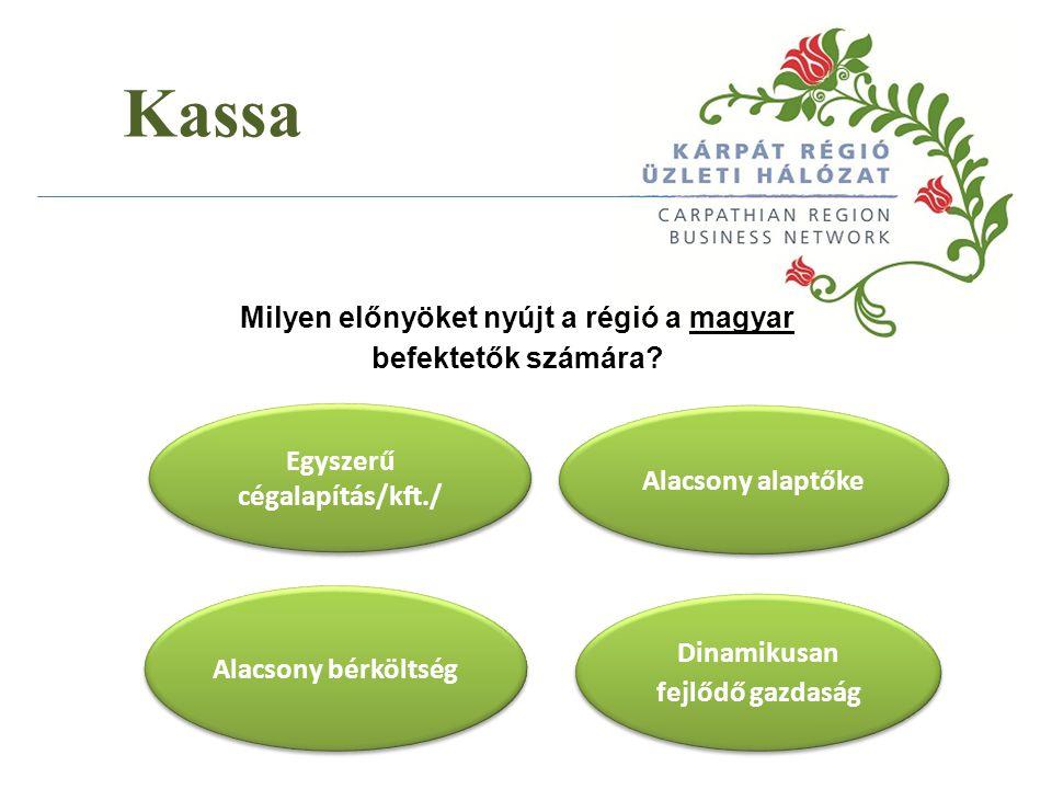 Kassa Milyen előnyöket nyújt a régió a magyar befektetők számára
