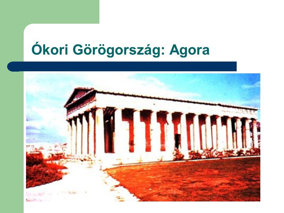 Ókori Görögország: Agora