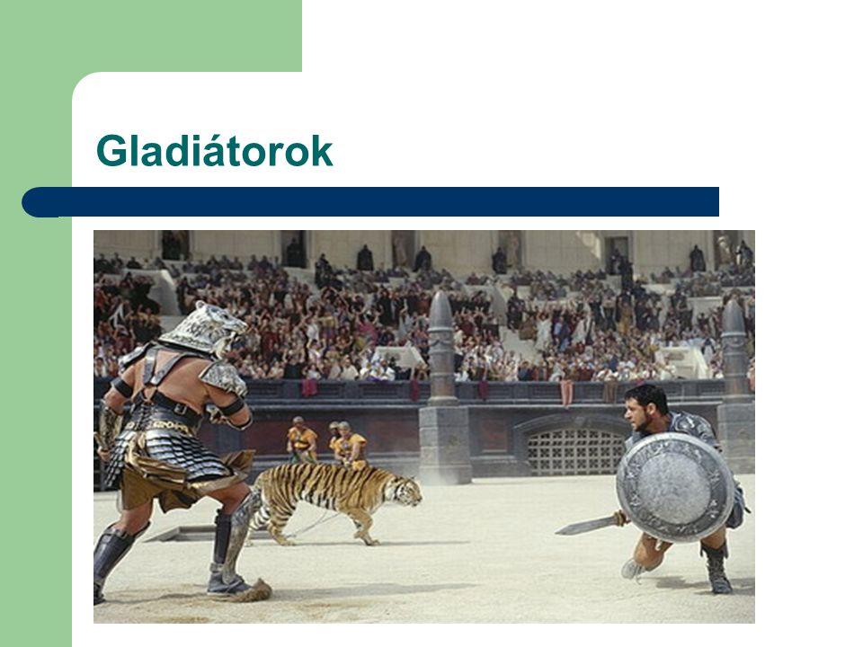 Gladiátorok