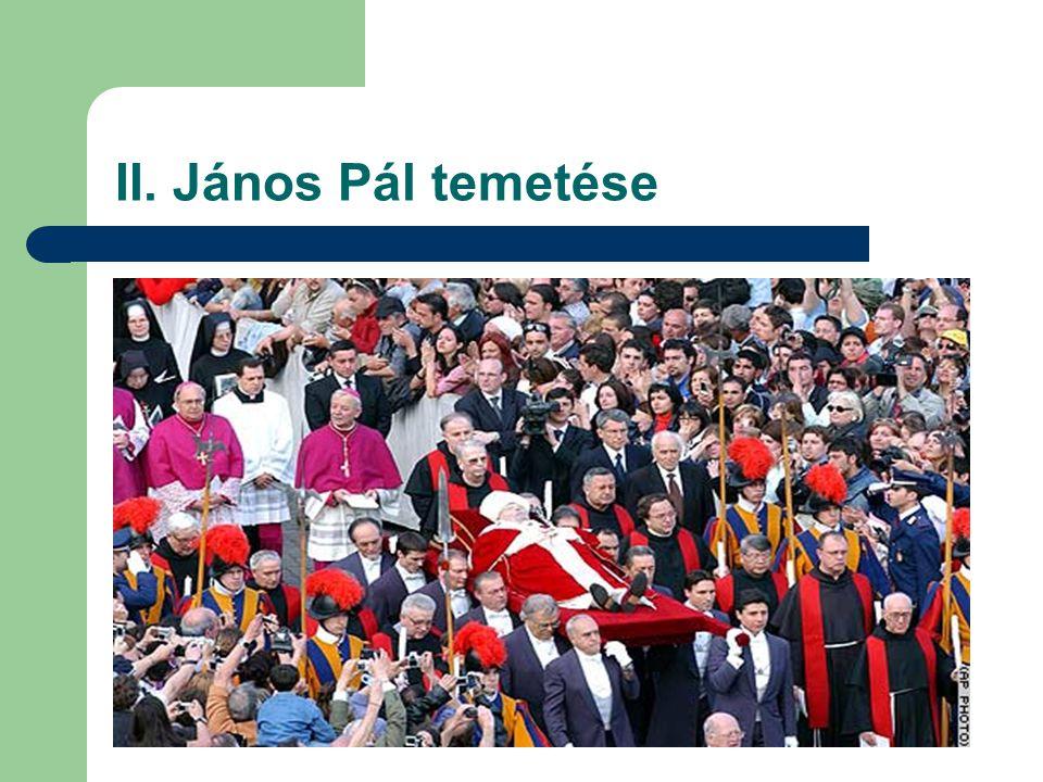 II. János Pál temetése