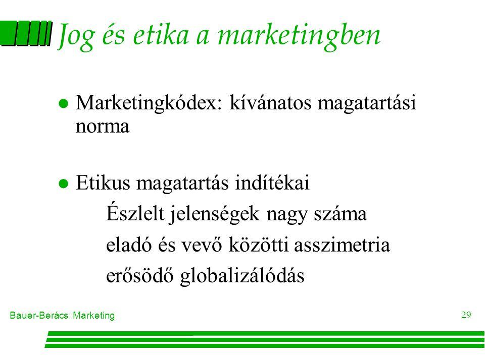 Jog és etika a marketingben