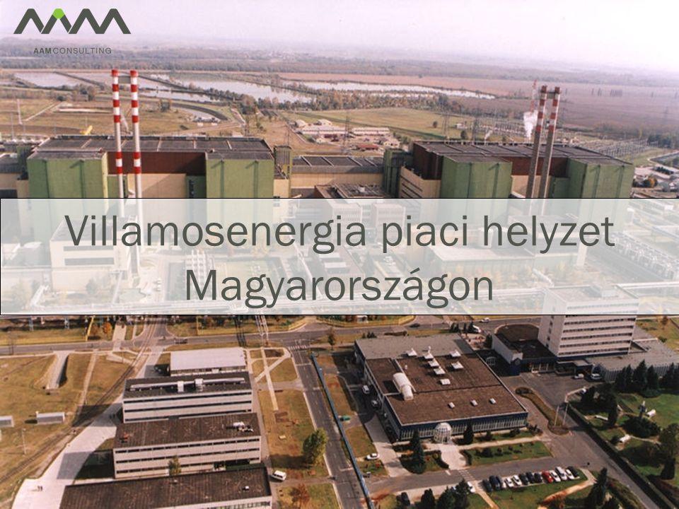 Villamosenergia piaci helyzet
