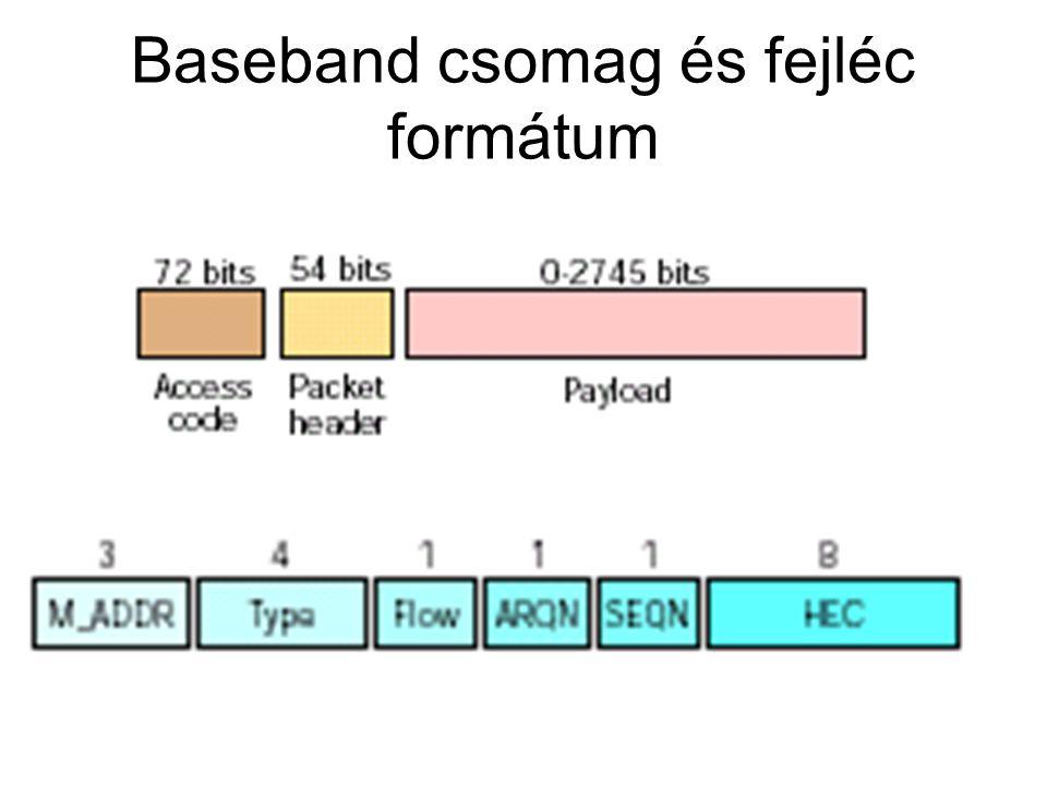 Baseband csomag és fejléc formátum