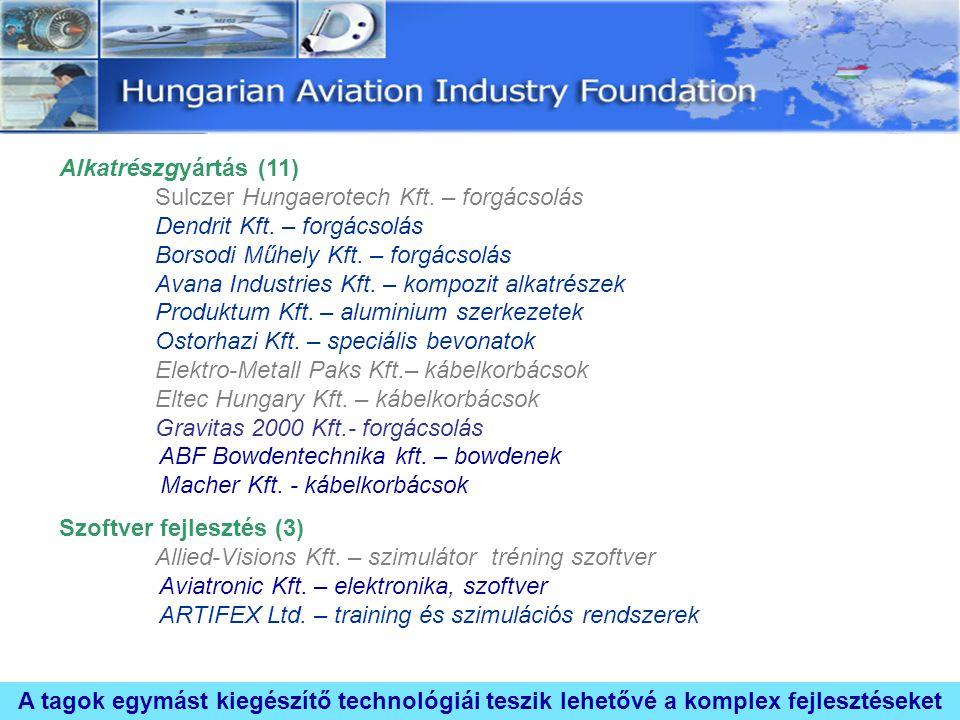 Alkatrészgyártás (11). Sulczer Hungaerotech Kft. – forgácsolás