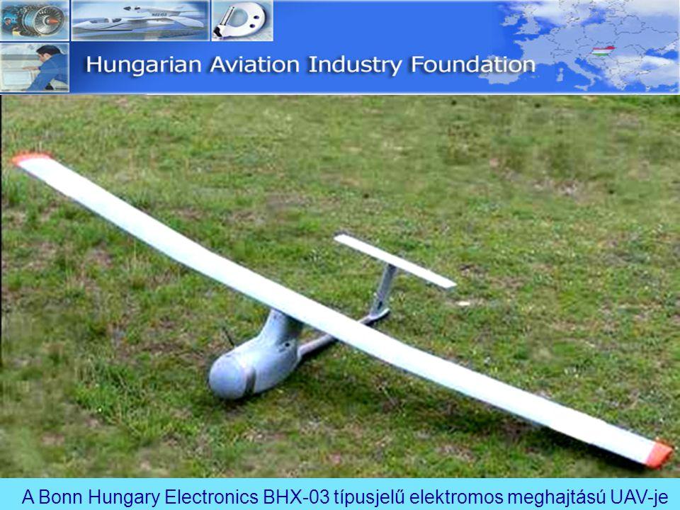 A Bonn Hungary Electronics BHX-03 típusjelű elektromos meghajtású UAV-je