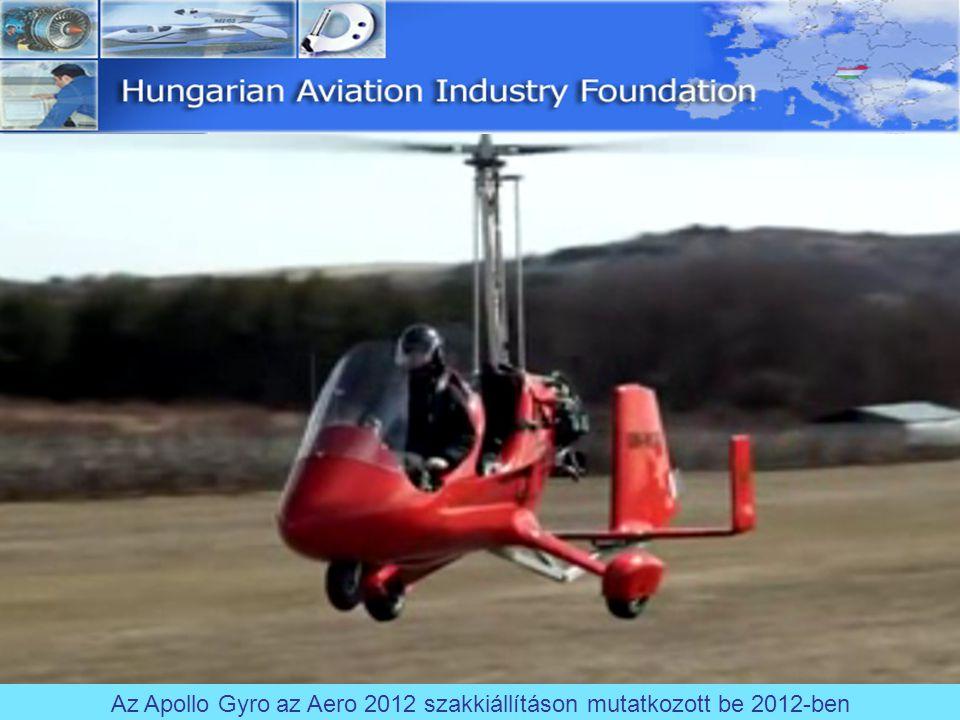 Az Apollo Gyro az Aero 2012 szakkiállításon mutatkozott be 2012-ben