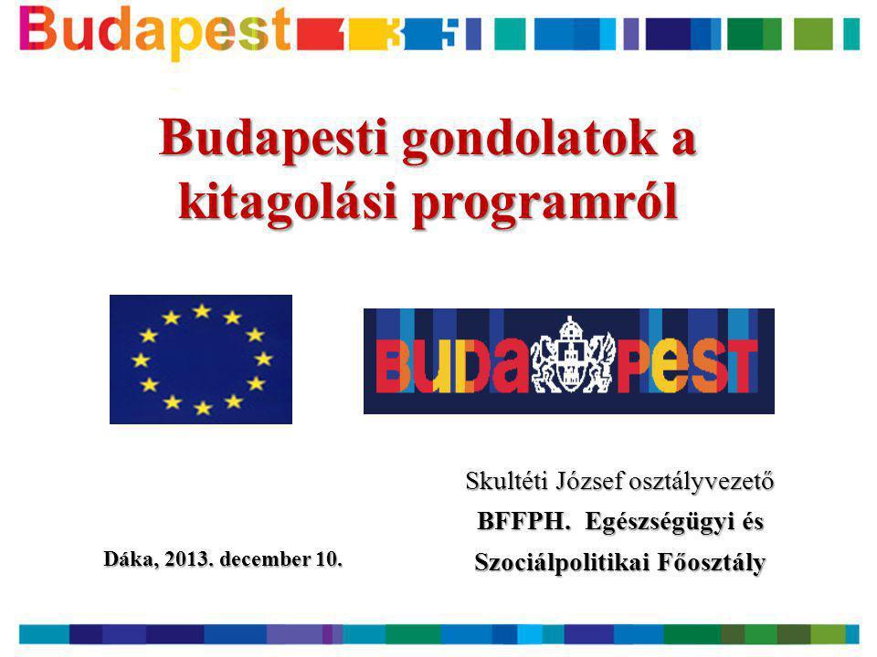 Budapesti gondolatok a kitagolási programról