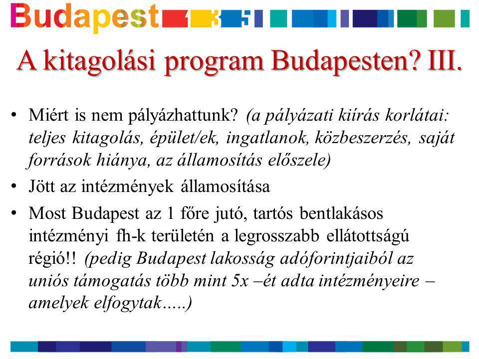 A kitagolási program Budapesten III.