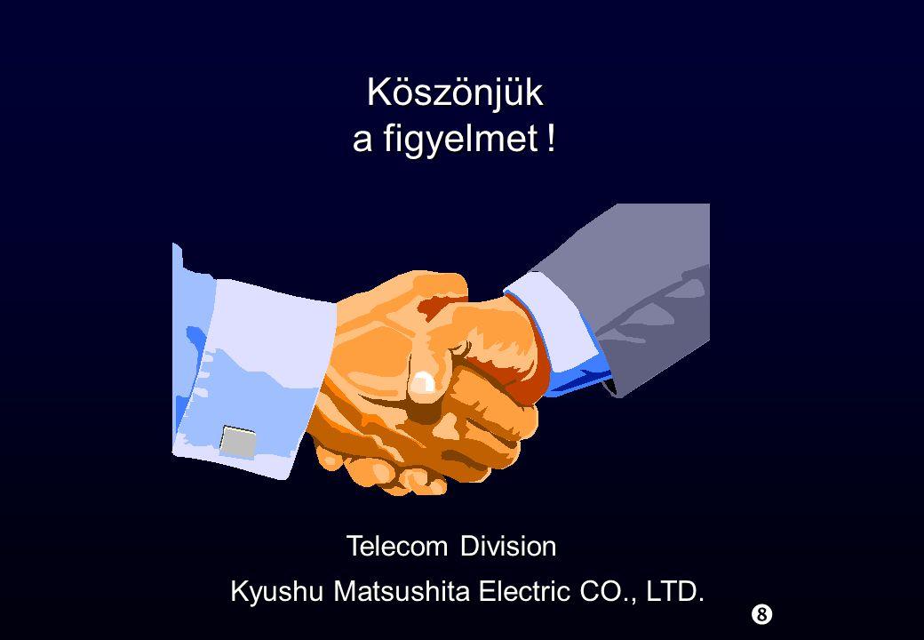 Kyushu Matsushita Electric CO., LTD.