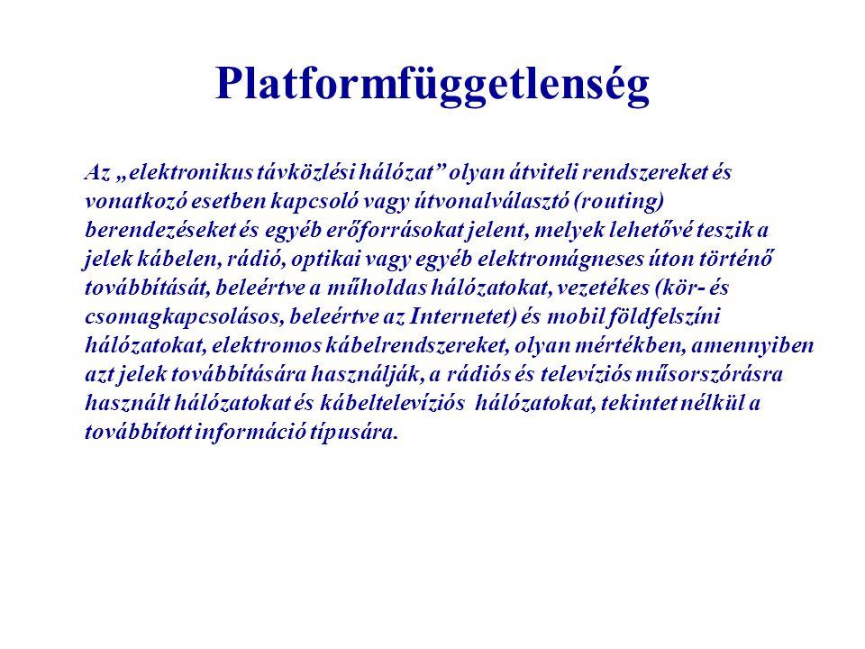 Platformfüggetlenség