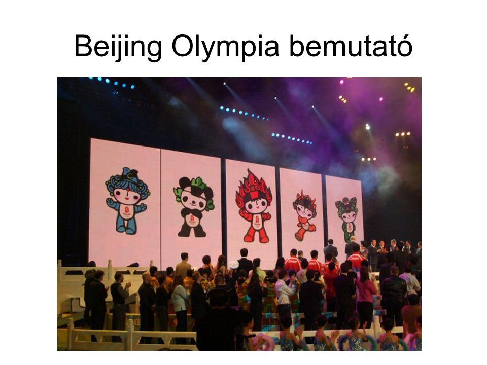 Beijing Olympia bemutató