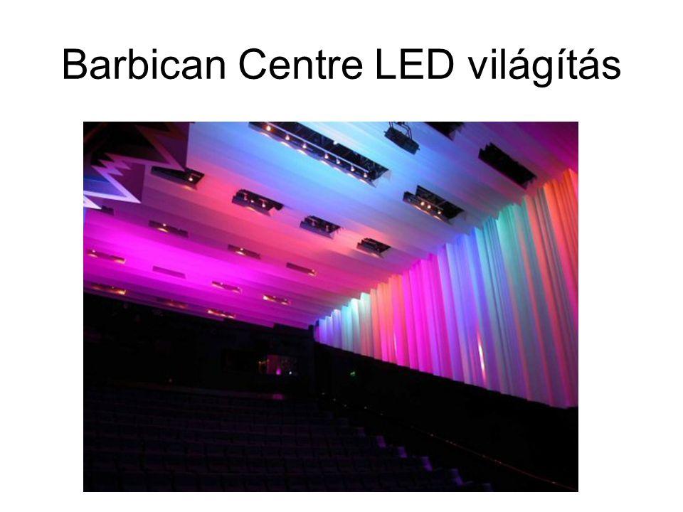 Barbican Centre LED világítás