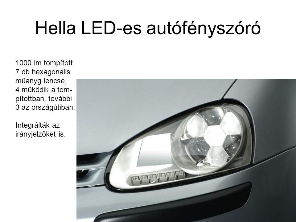 Hella LED-es autófényszóró