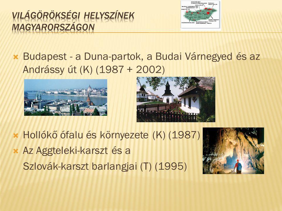 Világörökségi helyszínek Magyarországon