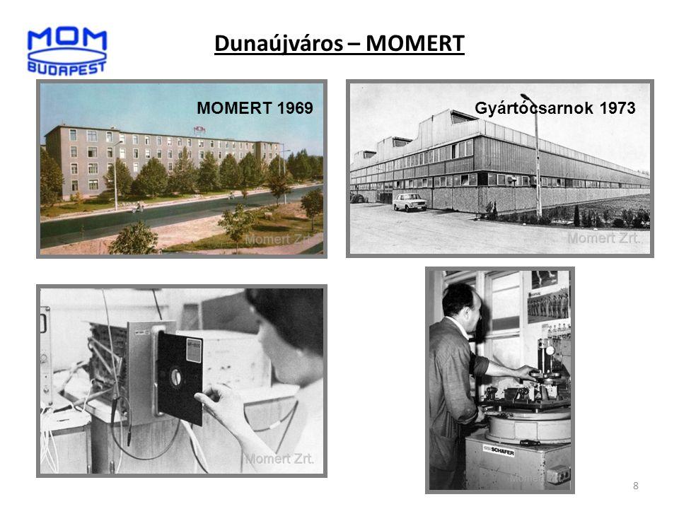 Dunaújváros – MOMERT MOMERT 1969 Gyártócsarnok 1973 8