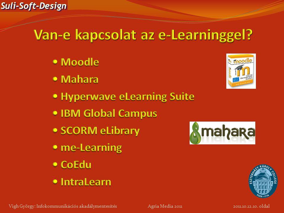 Van-e kapcsolat az e-Learninggel