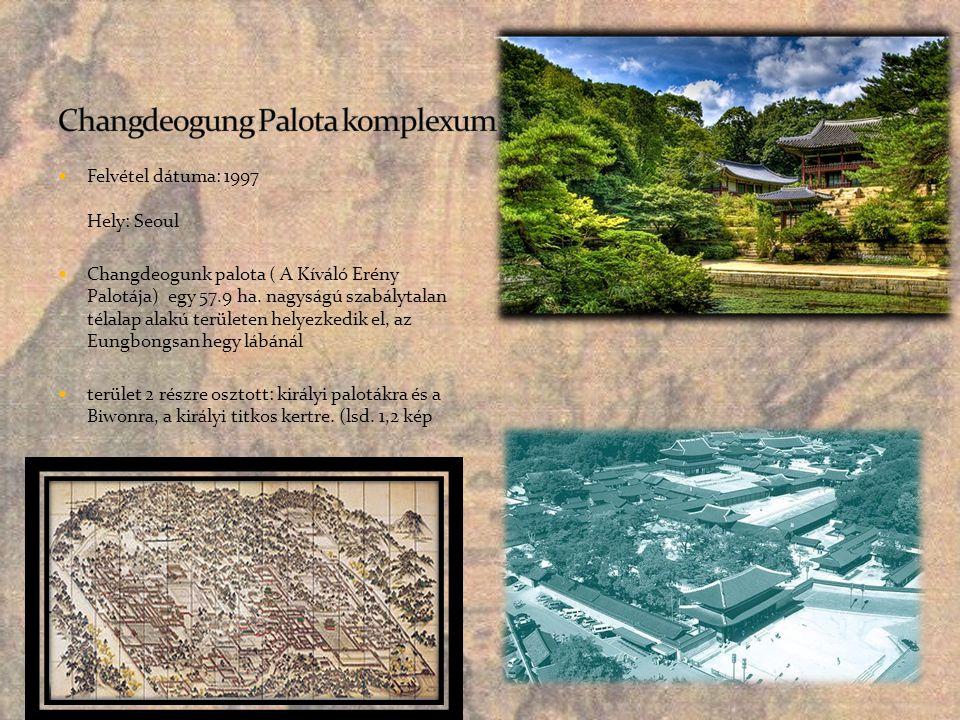 Changdeogung Palota komplexum