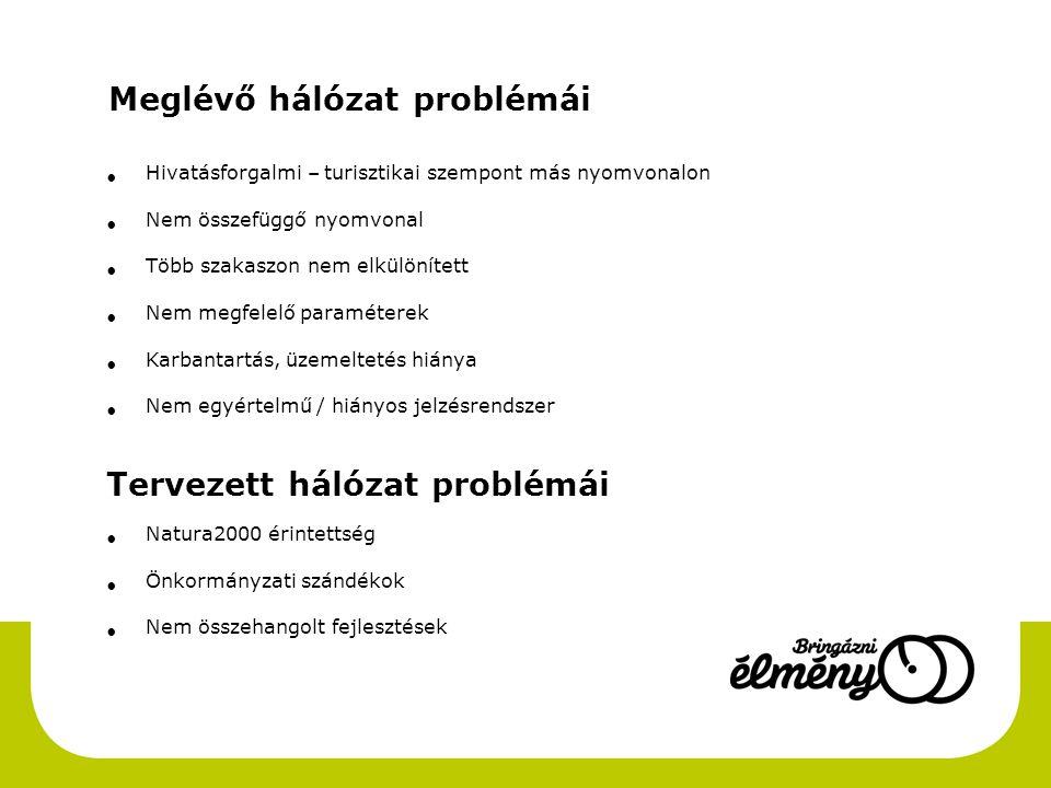 Meglévő hálózat problémái