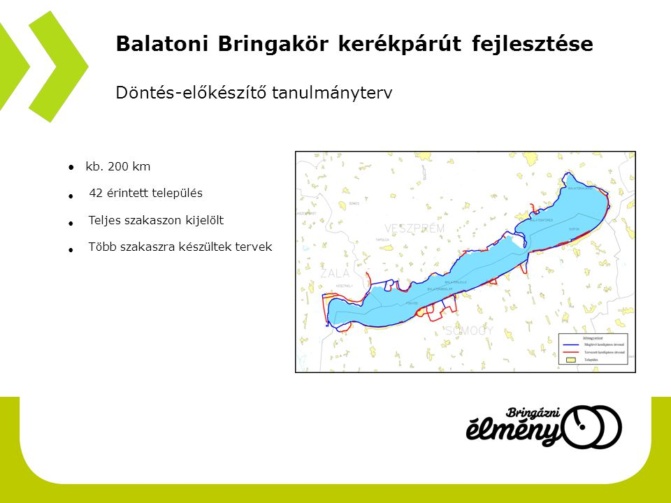 Balatoni Bringakör kerékpárút fejlesztése