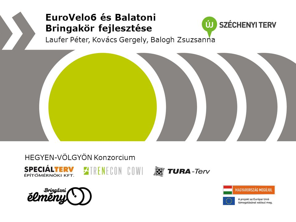 EuroVelo6 és Balatoni Bringakör fejlesztése