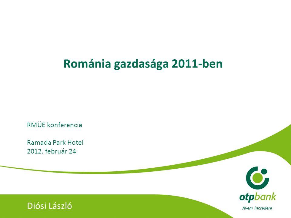 Románia gazdasága 2011-ben