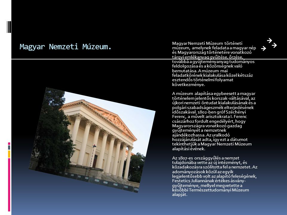 Magyar Nemzeti Múzeum.