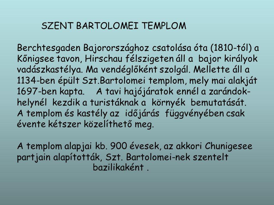 SZENT BARTOLOMEI TEMPLOM
