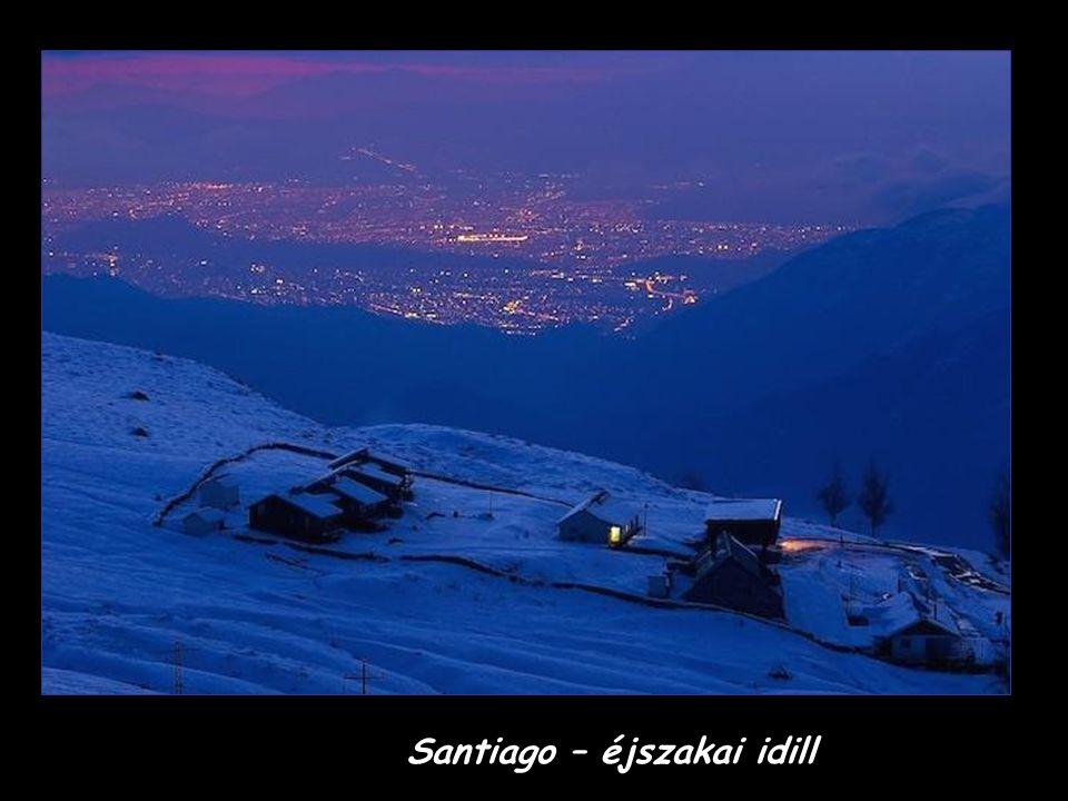 Santiago – éjszakai idill