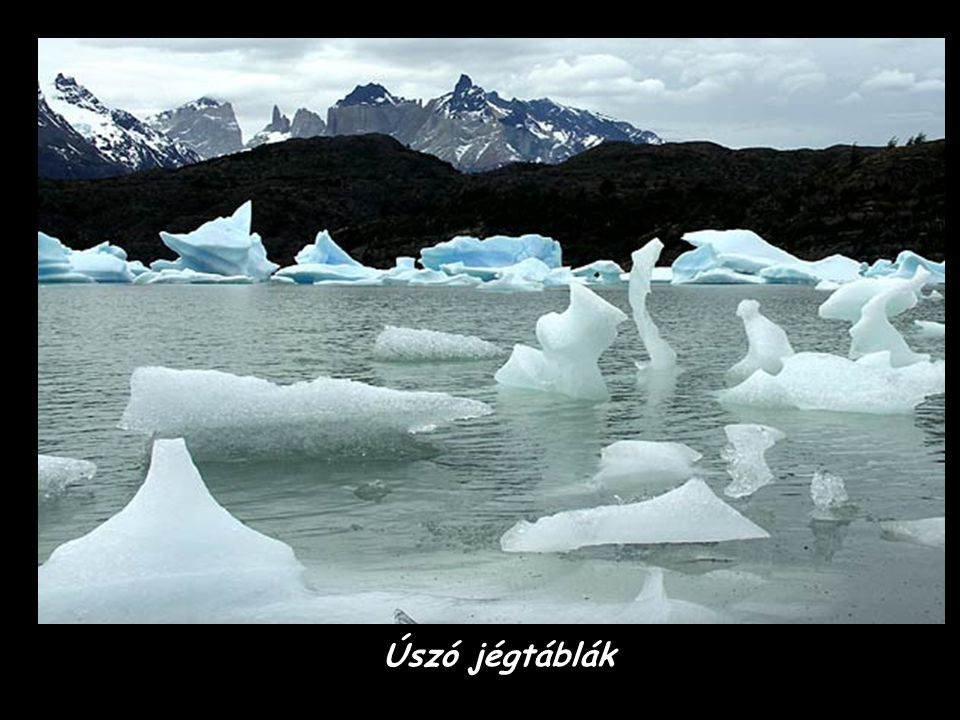 Úszó jégtáblák