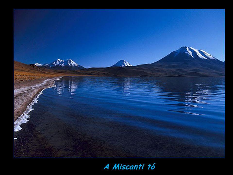 A Miscanti tó