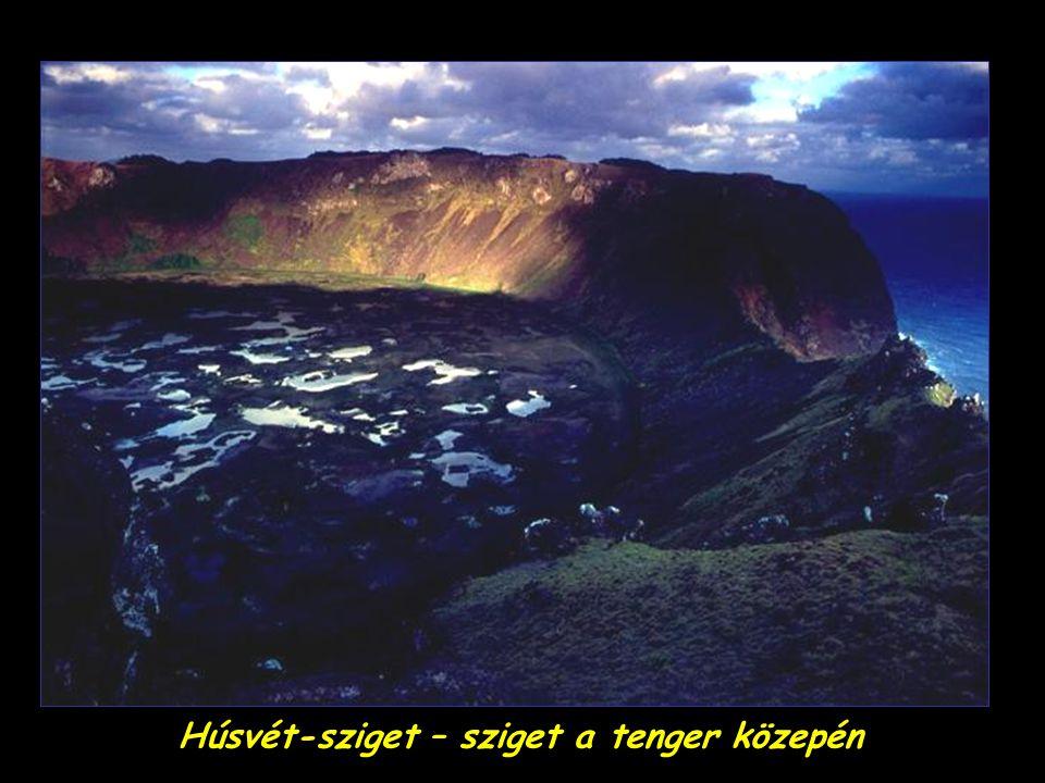 Húsvét-sziget – sziget a tenger közepén