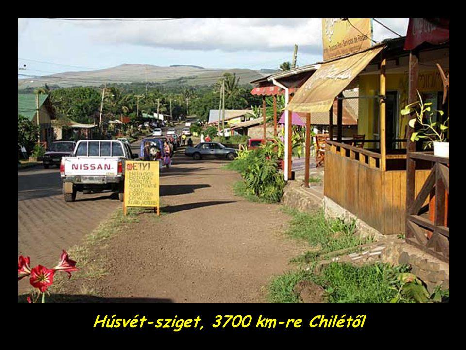 Húsvét-sziget, 3700 km-re Chilétől