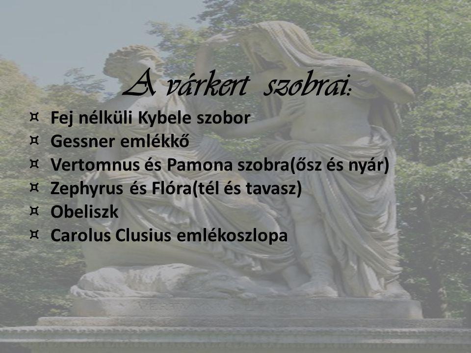 Fej nélküli Kybele szobor Gessner emlékkő