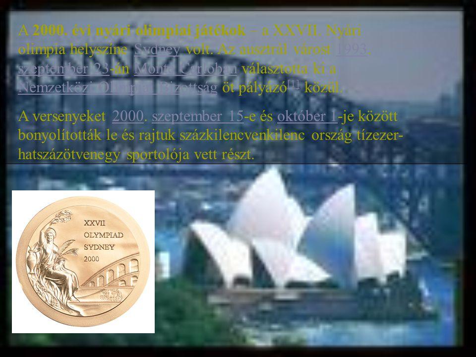 A 2000. évi nyári olimpiai játékok – a XXVII